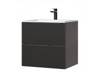 Capri Black 820 - szafka pod umywalkę