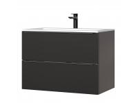 Capri Black 821 - szafka pod umywalkę