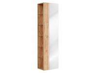Capri Oak 803 - szafka wysoka z lustrem