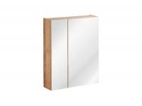 Capri Oak 842 - szafka z lustrem