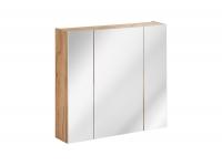 Capri Oak 843 - szafka z lustrem