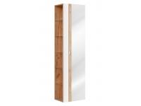 Capri White 803 - szafka wysoka z lustrem